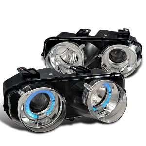 Integra Rs Gs Ls Chrome Halo Projector Headlights Lamps Automotive