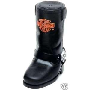 Harley Davidson 5.5 Vinyl Boot Dog Toy