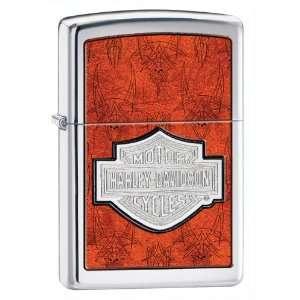 Harley Davidson w/Org & Chrome Lighter