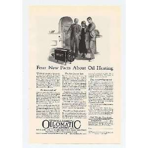 Oil O Matic Heating Oil Heater Print Ad (14781)