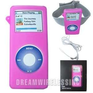 Gel Silicone Skin Case For Apple iPod Nano 1st Generation Electronics