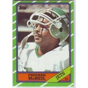 1986 Topps Football New York Jets Team Set