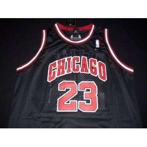 Michael Jordan Nike Black Road Chicago Bulls Jersey Size XXL +2