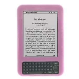 Silicone Skin Soft Cover Case for  kindle keyboard 3