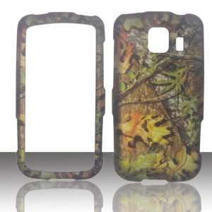 2D Camo Green Leaf LG Optimus S, U, V LS670 Sprint, Virgin Mobile, U.S