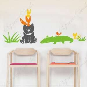 Made in US   Free Custom Color   Animals live together   removable