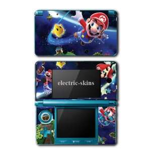Nintendo 3DS Skins   Super Mario Galaxy Skin Decal Kit for