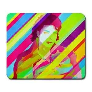 Colorful Michael Jackson Large Mouse Pad