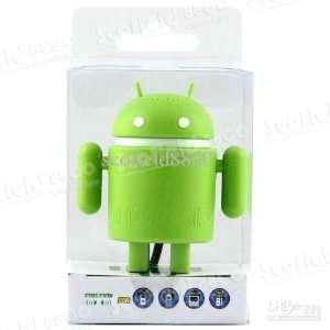 Google Android Robot Mini Speaker (Green) Electronics