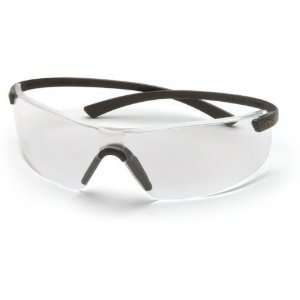 Pyramex Montego Safety Glasses   Clear Lens, Black Frame