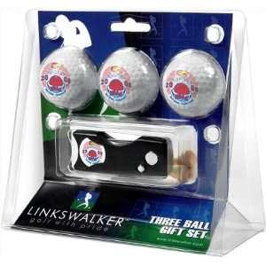 Kansas Jayhawks 2008 NCAA Basketball Champions 3 Golf Ball Gift Pack w