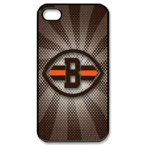 NFL Cleveland Browns iPhone 4/4s Fitted Case Browns logo