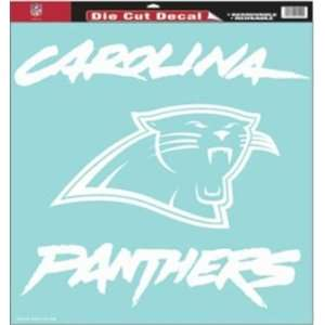 NIB Carolina Panthers NFL Die Cut Sticker Decal