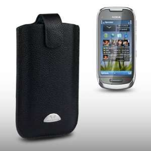 NOKIA C7 TERRAPIN GENUINE LEATHER POCKET CASE BY CELLAPOD CASES