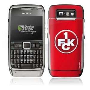 Design Skins for Nokia E71   1. FCK Logo Design Folie