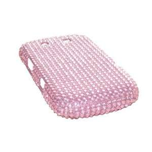 Modern Tech Pink Diamante Case/ Snap On Back Cover for