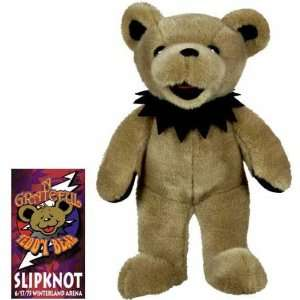 Grateful Dead   Slipknot 14 Bear Plush Toy: Toys & Games