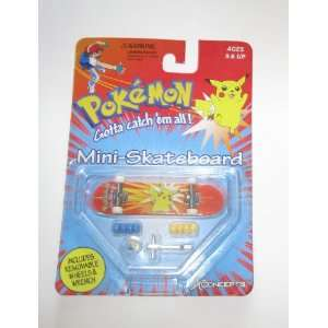 Pokemon Mini Skateboard  Pikachu A  Toys & Games