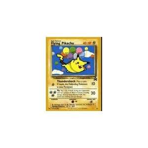 Pokemon Card   Black Star Promo #25   FLYING PIKACHU Toys & Games