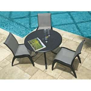 Dune MGP Sling Patio Recycled Plastic Dining Set Patio, Lawn & Garden