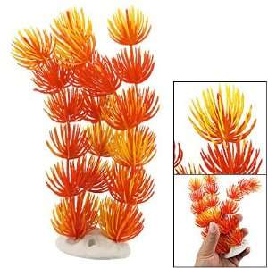 Como Fish Tank Orange Plastic Eusteralis Stellata Ornament