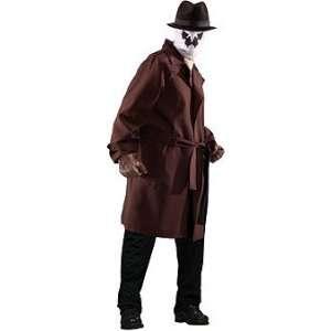 Rorschach Officially Licensed Plus Size + **FREE** Bonus Gloves