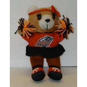 10 Lobos Teddy Bear; Plush Stuffed Toy Doll; University of New Mexico