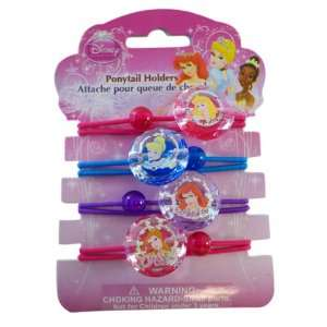 Princess PonyTail Holders   Princesses Pony Tail Holders Toys & Games