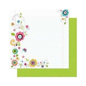 Petal Pushers Double Sided Heavy Weight Paper 12X12