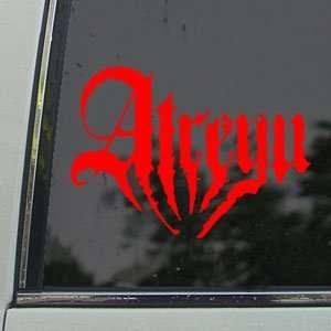 Areyu Red Decal Punk Rock Band Car ruck Window Red