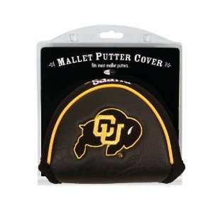 Colorado Buffaloes Mallet Putter Cover Headcover  Sports