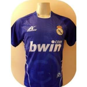 REAL MADRID YOUTH AWAY SOCCER JERSEY ONE SIZE (SIZE 16) FOR 12 TO 14