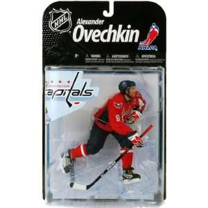 Action Figure Alexander Ovechkin 3 (Washington Capitals) Red Jersey