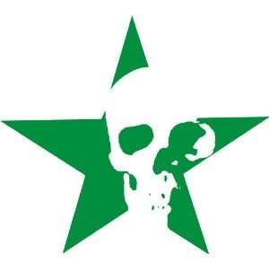 Skull Star Removable Wall Sticker