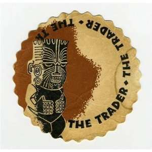 The TRADER Restaurant Coaster TIKI Trader Vics