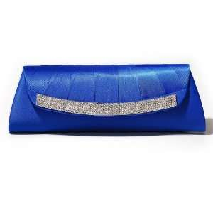Wedding Evening Clutch Purse with Rhinestone Set Flap