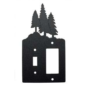 Single Light Switch and Single Rocker (GFI) Light Switch Plate Cover