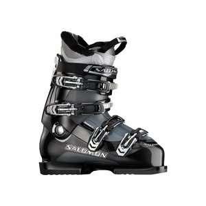 Salomon Mission 4 Ski Boot   Black/Gun Metal Translucent   29.5