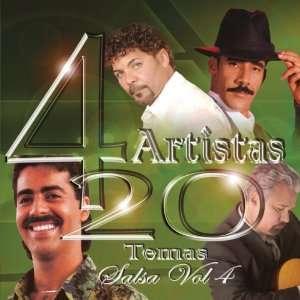 4 Artistas 20 Temas Salsa, Vol. 4 Various Artists Music