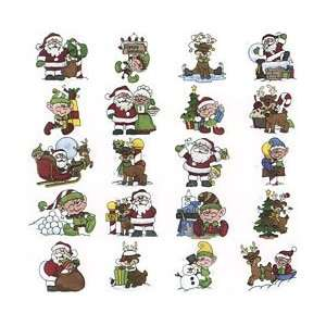 embroidery designs   Santa & Friends: Arts, Crafts & Sewing