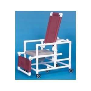 Deluxe Reclining Shower Commode Chair