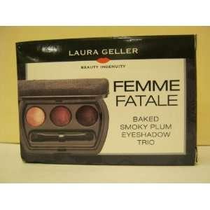 LAURA GELLER Femme Fatale Baked Smokey Plum Eyeshadow Trio Beauty