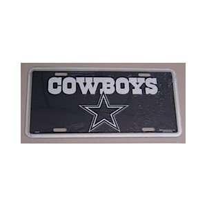 Dallas Cowboys Logo License Plate