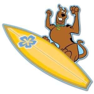 Scooby Doo surfer surfing bumper sticker decal 4 x 4
