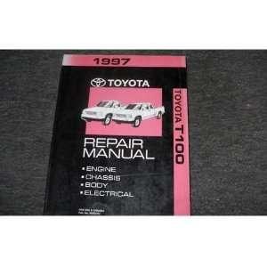 1997 Toyota T100 Truck Service Shop Repair Manual OEM toyota