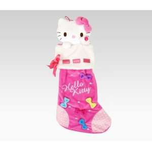 Kitty Plush Pink Musical Christmas Stocking Holiday Toys & Games