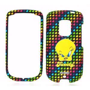 Looney Tunes Tweety Bird Rubber Texture Snap on Cell Phone