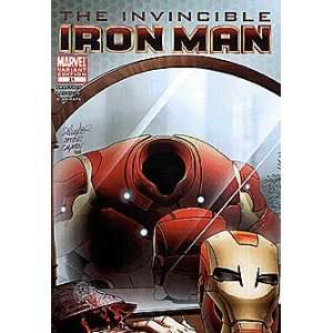 Invincible Iron Man (2008 series) #31 VAMPIRE Marvel Books