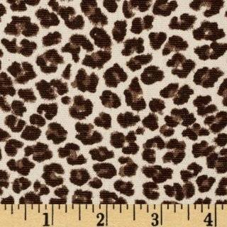 Jungle Print Leopard Print Cotton Fabric for Dollhouse