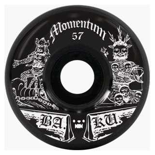 Momentum Ba.k.u. 57mm Black (4 Wheel Pack) Sports